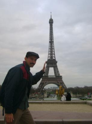 Pushing the Eiffel tower is easy…